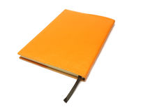 Notebook on white background with clipping path Stock Image