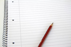 Free Notebook With Pencil Royalty Free Stock Image - 4183696
