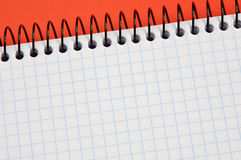 Notebook -write your text- Stock Photography