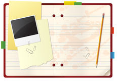 Notebook_2 Stock Images