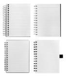Notebooks stock photos