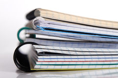 Notebooks. Royalty Free Stock Photo