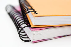 Notebooks Stock Image