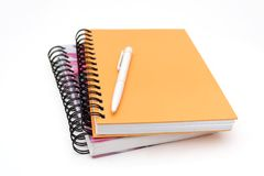 Notebooks stock photos