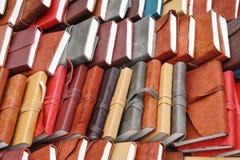 Notebooks background Royalty Free Stock Photos