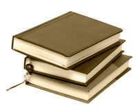 Notebooks with book-mark Royalty Free Stock Photo