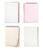 Notebooks group Royalty Free Stock Images