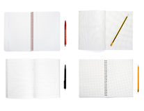 Notebooks group Royalty Free Stock Photo