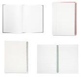 Notebooks group Stock Photos