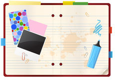 Notebool_3 Stock Photo