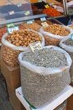 Noten en zaden Stock Foto