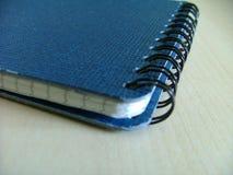 Notepad. Blue notepad Stock Photo