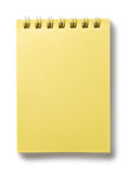 notepad Fotografia Stock