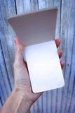 notepad Fotografia Stock