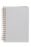Notepad. Isolated on a white background Royalty Free Stock Photography