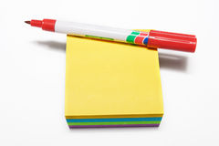 Notepad #4 stock images
