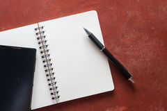 notepad fotografia royalty free