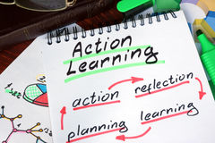 Notepad with Action Learning