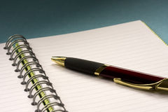 Free Notepad And Pen Stock Photography - 4163392