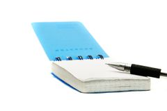 Free Notepad And Pen Royalty Free Stock Photos - 9118968