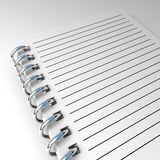 Notepad background Royalty Free Stock Image