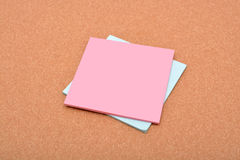 Notepad with copy space on paper texture Stock Photo