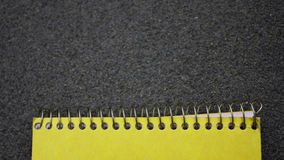 Notepad in detail Royalty Free Stock Images