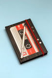 Notepad in the form of cassette Stock Images