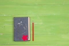 Notepad i ołówek zdjęcie stock