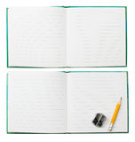 Notepad isolated Royalty Free Stock Photos