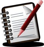 Notepad, Memo, Pencil, Writing Royalty Free Stock Photography