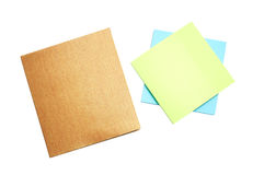 Notepad and mini notebook Stock Photography