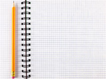 Notepad notebook with pencil Royalty Free Stock Photo