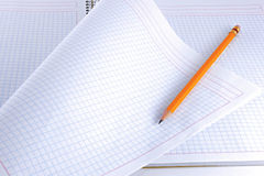 Notepad and Pen Royalty Free Stock Photos