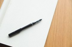 Notepad Pen Write Royalty Free Stock Photo