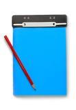 Notepad and penci Stock Photos