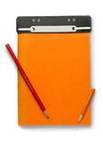 Notepad and penci Royalty Free Stock Photography