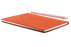 Notepad and pencil Stock Images