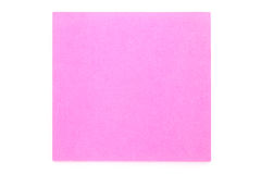 Notepad pink Stock Photo