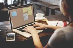 Notepad Reminder Remember List Planning Concept Stock Image