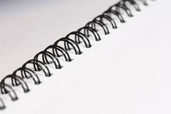Notepad spiral Stock Photos