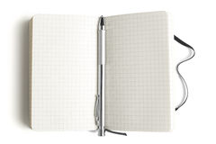 Notepad wit pen Stock Images