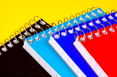 Notepads stock photography