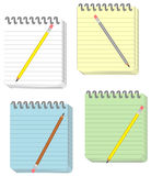 Notepads Stock Image
