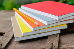 Notepads with pen Royalty Free Stock Photo