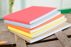 Notepads with pen Stock Photography