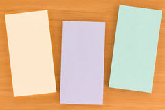 Notepads on Table Stock Photos