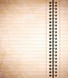 notepaper Obraz Stock