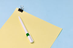 Notepaper royalty free stock photo