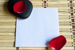 notepaper Zdjęcie Royalty Free